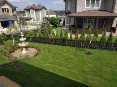 Author's landscape design in Odessa by professionals