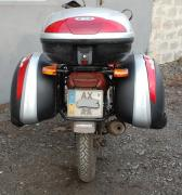 Багажні системи, бічні межі, захисні дуги на мотоцикл