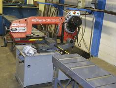 Band saw for cutting Bomar Ergonomic 275.230 DG metal
