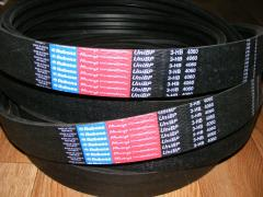 Belts transmission belts for combine harvester Fortschritt (Fortsat), DON