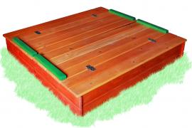 Children's sandbox with cover color