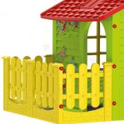 Children's XXL house with a picket fence + a large set of games Dentist