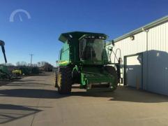 Combine harvester John Deere (John Deere) 9660