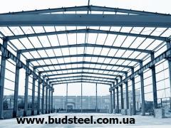 Construction of warehouses, turnkey hangars
