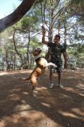 Dog training in Yalta