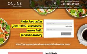 Food Ordering Script- Food Delivery script