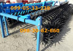 HACK BR-6 ROTARY cultivator rotary Harrow reinforced