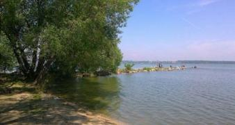 Holiday on the shores of the Seversky Donets river