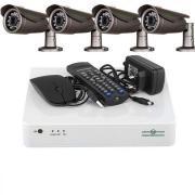 Качественный заводской набор видеонаблюдения AHD GreenVision.Деше