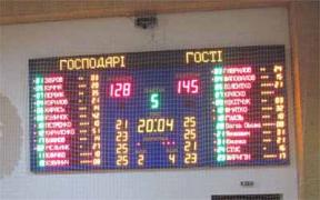 Led sports scoreboard, stadium scoreboard, street clock