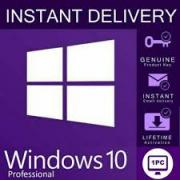 License key Windows PRO 10 32/64 bit