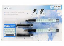 M18-470721, pen Set - 2 PCs, black-mint