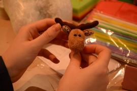 Master class on sewing Teddy moosie baby