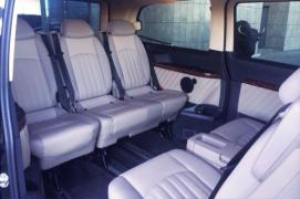 Minibus hire in Minsk. The Mercedes Viano