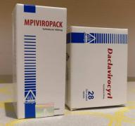 MPIVIROPACK Виропак софосбувир + даклатасвир выгодно