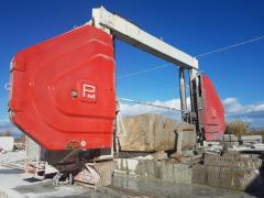 Оборудование для добычи и обработки мрамора, гранита, камня