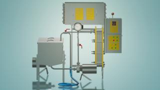 Пастеризатор молока для производства сыра 2 т/ч УЗМ-2,0П