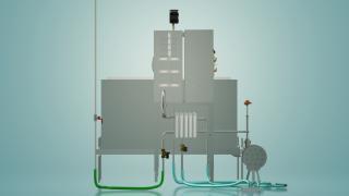 Пастеризатор молока емкостной на 500 л УЗМ-0,5Е