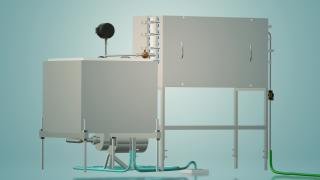 Пастеризатор молока ємнісний на 200 л УЗМ-0,2Е