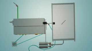 Пастеризатор молока ємнісний на 500 л УЗМ-0,5Е