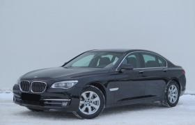 Rent a car with driver in Minsk. BMW 7 F02 Long