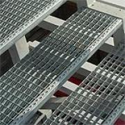 решетчатый настил, ступени , ячеистые решетки , лестницы