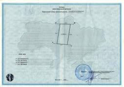Sell a plot of OSG 12 acres in the Kiev region
