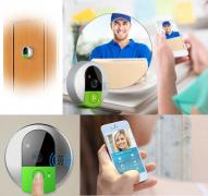 Smart Wireless Doorbell. C95 Vstarcam wifi Doorcam HD