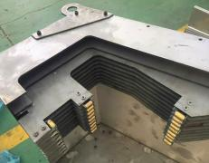 Telescopic guards on request