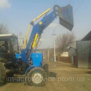 To purchase a front loader for MTZ UMZ delivery in Ukra