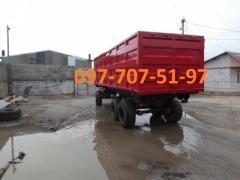 Tractor trailer 3ПТС-12