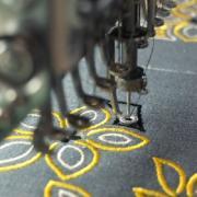 Вышивка на заказ, машинная вышивка на изделии и крое