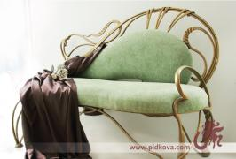Wrought iron sofa available, sofa